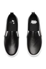Slip-on trainers - Black - Kids | H&M CN 2