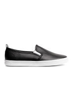 Slip-on trainers - Black - Kids | H&M 1