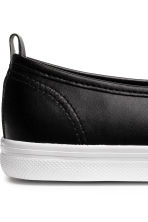 Slip-on trainers - Black -  | H&M 4