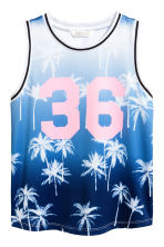 Basketball vest - Blue/Palms - Kids | H&M 2