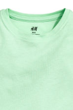 3-pack long-sleeved T-shirts - Mint green -  | H&M 4