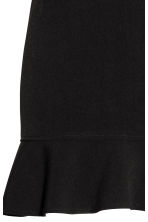 Short flounced skirt - Black - Ladies | H&M 4