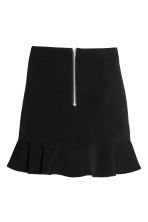 Short flounced skirt - Black - Ladies | H&M 3