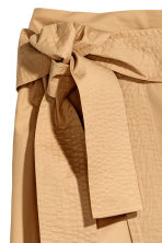 Cotton wrapover skirt - Beige - Ladies | H&M 3
