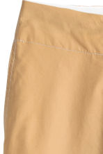 Wide cotton trousers - Beige -  | H&M 4
