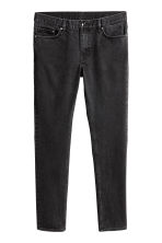 Smalle jeans - Zwart washed out - HEREN | H&M NL 2