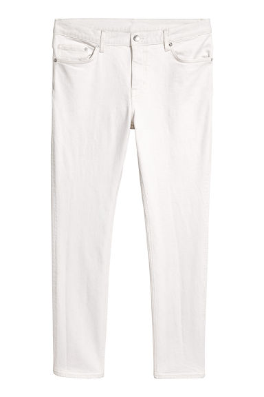 Slim jeans - White denim - Men | H&M GB