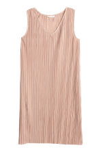 Pleated dress - Powder pink - Ladies | H&M 2