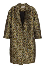Cappotto in tessuto jacquard - Leopardato - DONNA | H&M IT 2