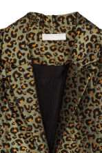 Cappotto in tessuto jacquard - Leopardato - DONNA | H&M IT 3