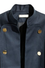 Cotton jacket - Dark blue - Ladies | H&M 4