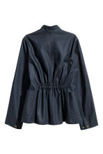 Cotton jacket - Dark blue -  | H&M CA 3