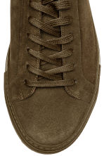 Suede trainers - Khaki brown - Men | H&M CN 5
