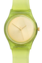 Watch - Lime green - Ladies | H&M CN 2