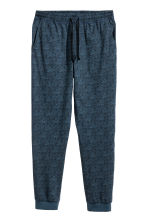 Patterned pyjama bottoms - Dark blue/Tigers - Men | H&M 2