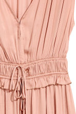 V-neck dress - Powder pink - Ladies | H&M CN 3
