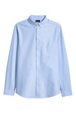Oxford shirt Slim fit - Light blue - Men | H&M 2