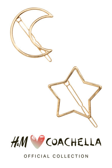 2-pack hair clips - Gold - Ladies | H&M CN 1