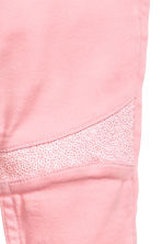 Treggings with sequins - Pink - Kids | H&M CN 4