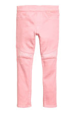 Treggings with sequins - Pink - Kids | H&M CN 2