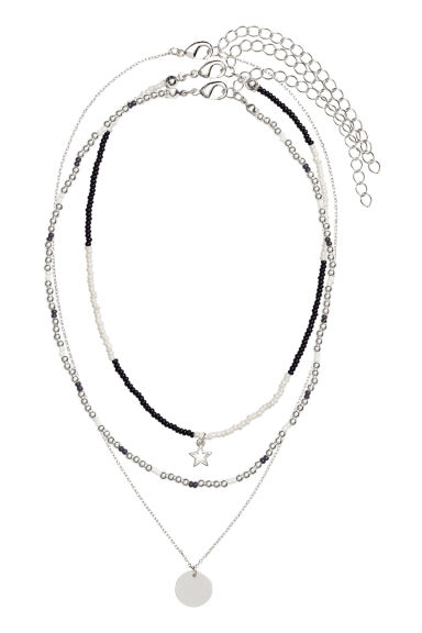 3-pack chokers - Silver - Ladies | H&M 1