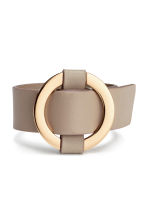 Bracelet with a metal ring - Beige - Ladies | H&M 1