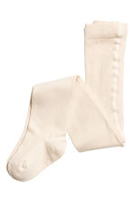 2-pack tights - Powder pink -  | H&M CN 2