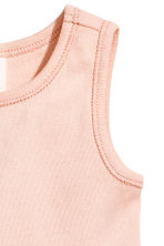 Sleeveless dress - Powder pink -  | H&M 2