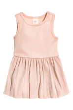 Sleeveless dress - Powder pink - Kids | H&M CN 1