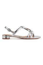 Sandals - Silver - Ladies | H&M CA 2