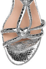 Sandals - Silver - Ladies | H&M CA 4