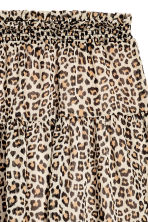 Crêpe skirt - Leopard print - Ladies | H&M IE 3