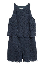 Tuta in pizzo - Blu scuro - DONNA | H&M IT 2