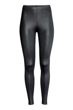 Shiny leggings - Black - Ladies | H&M 2