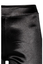 Shiny leggings - Black - Ladies | H&M CN 3