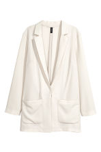 Crêpe jacket - White - Ladies | H&M 2