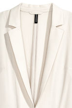 Crêpe jacket - White - Ladies | H&M 3