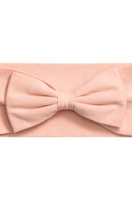 Hairband with a bow - Powder pink - Ladies | H&M 2