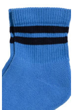 Ankle socks - Bright blue - Men | H&M CN 2