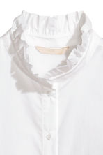 Cotton blouse - White -  | H&M 3