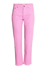 Straight Regular Jeans - Pink -  | H&M CN 2