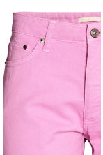 Straight Regular Jeans - Pink -  | H&M CN 4