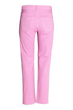 Straight Regular Jeans - Pink -  | H&M CN 3