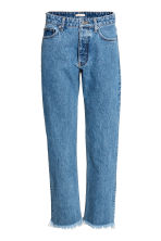 Straight Regular Jeans - Denim blue - Ladies | H&M CN 2