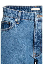 Straight Regular Jeans - Denim blue - Ladies | H&M CN 4
