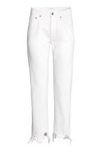 Straight Regular Jeans - Denim blanc -  | H&M FR 2