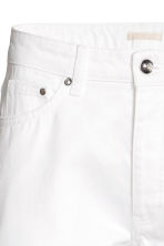 Straight Regular Jeans - Denim blanc -  | H&M FR 4