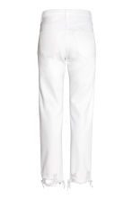 Straight Regular Jeans - Denim blanc -  | H&M FR 3