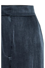 Wide suit trousers - Dark blue - Ladies | H&M CN 4