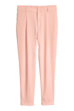 Dressy trousers - Powder pink -  | H&M CN 2